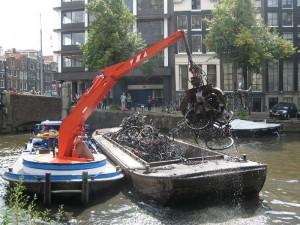 Junk Bike Barge