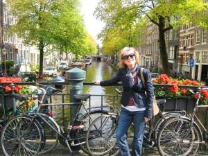 Sarah Bikes Canal