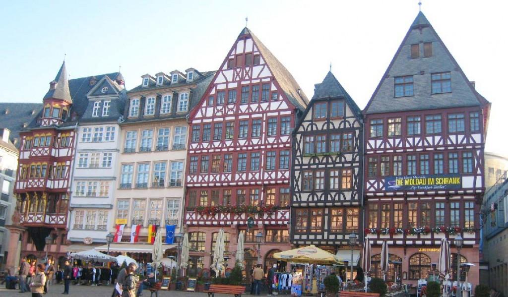 Frankfurt Romer Square