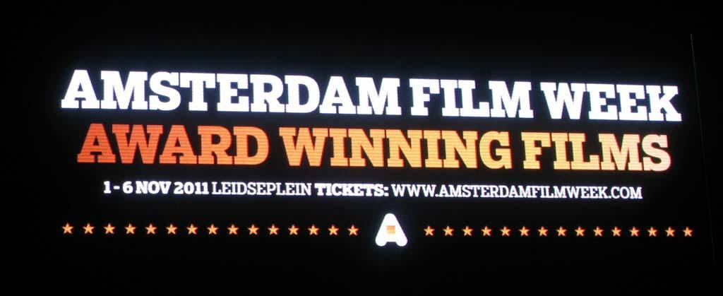 Amsterdam Film Week Sign