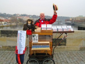 Charles Bridge Vendor