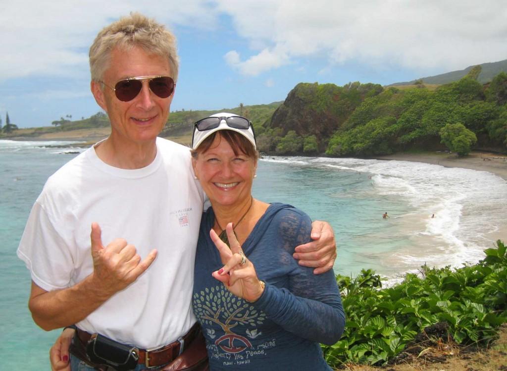 Harrison & Sharene in Hawaii