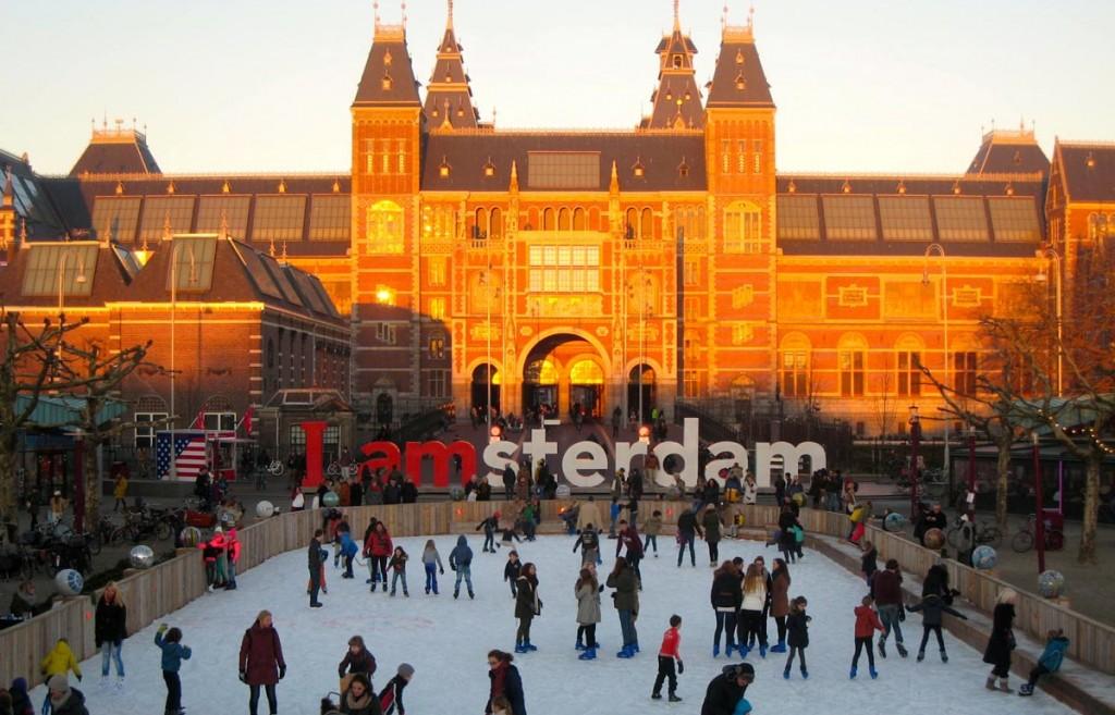 Rijksmuseum Skating