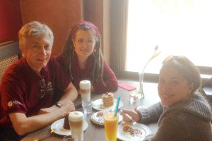 With Eva and Bogi